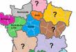 noms régions