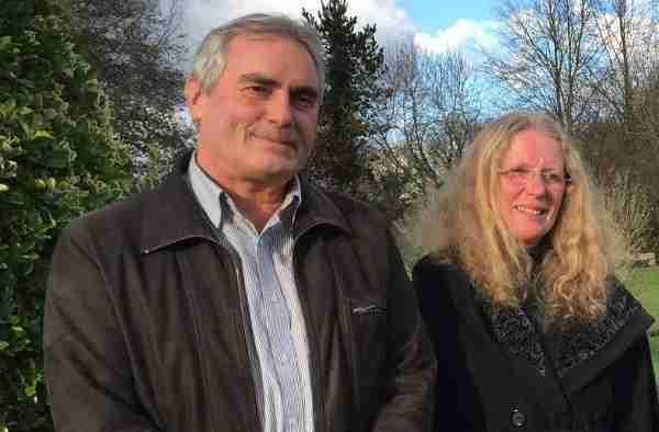Christian Derrien et Martine Auffret