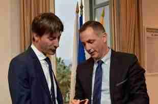 Jordi Solé et Gilles Simeoni