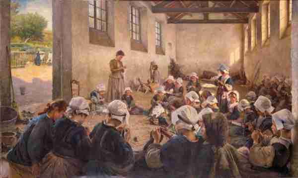 classe en Finistère