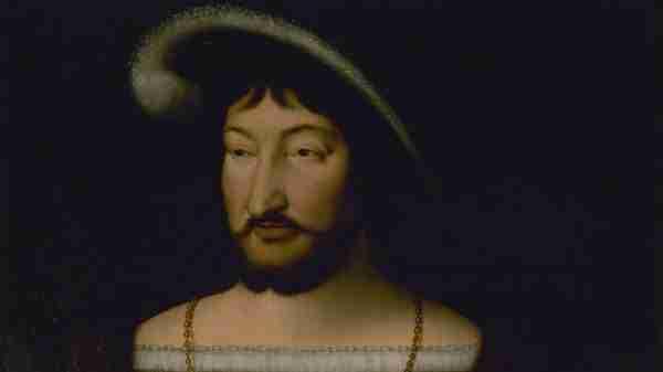 François 1er, tableau de Joos Van Cleve.