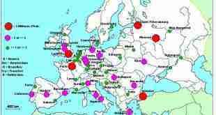 métropoles européennes