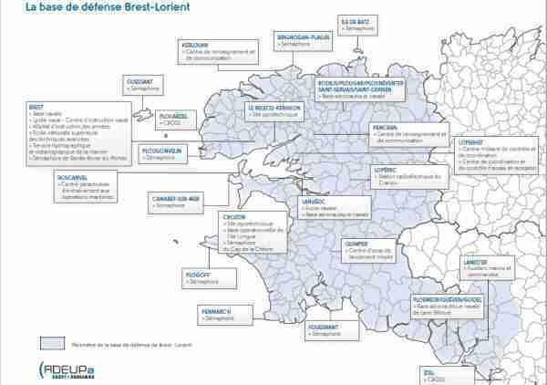 base Brest-Lorient défense