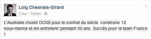 tweet chesnais-girard