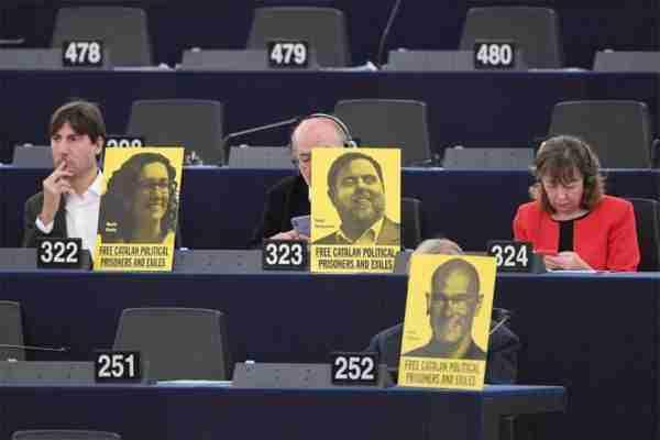 ALE, Catalogne, prisonniers politiques, parlement européen, procès indépendantistes catalans